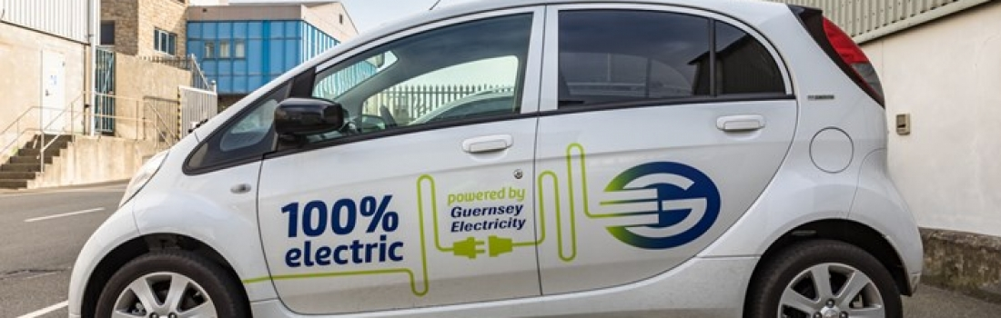 HB designs wrap for Guernsey Electricity's new EVs