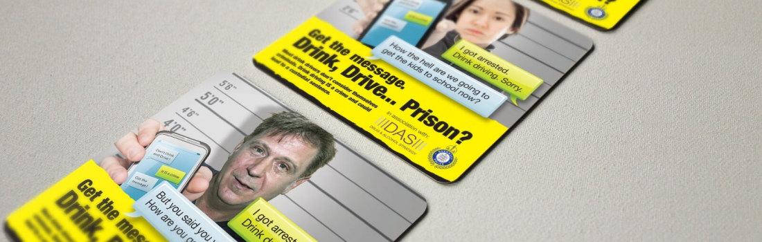 Anti-Drink Driving campaign with Guernsey Police and States