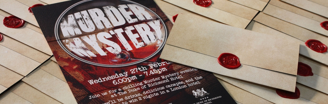 Murder Mystery at The Duke of Richmond Hotel