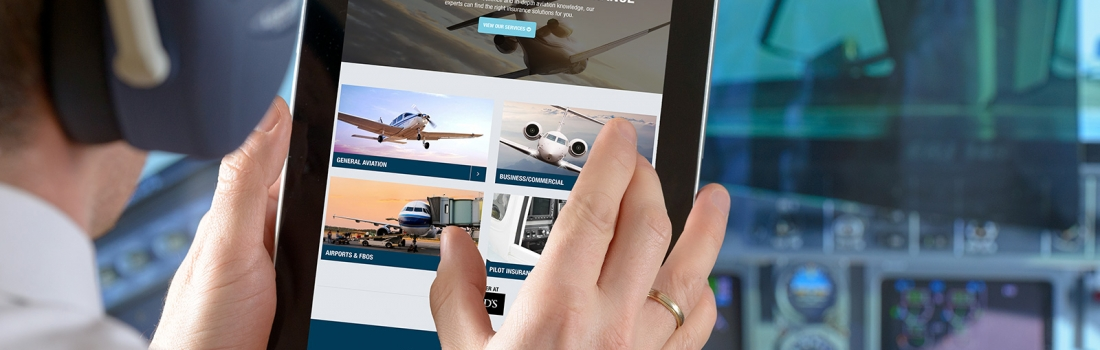 A new website for Sydney Charles Aviation Insurance Brokers takes off